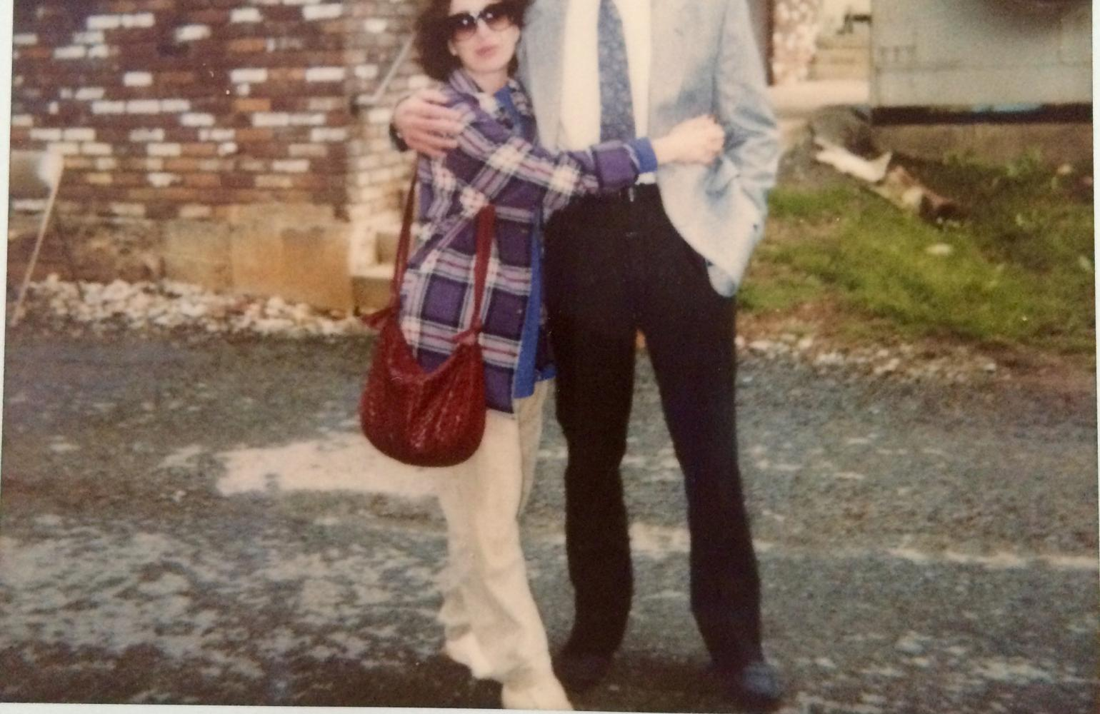 Nashville Beat, on location. Kent was way more dressed up than I was.
