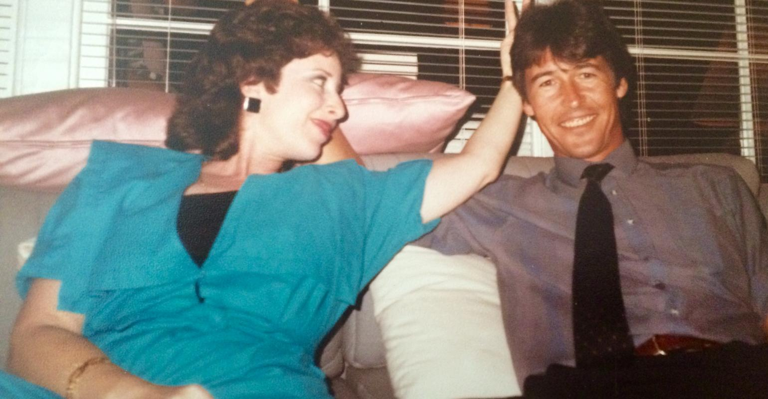 Randy and me at a party in the late 80's. I love this picture. Still friends after all this time.